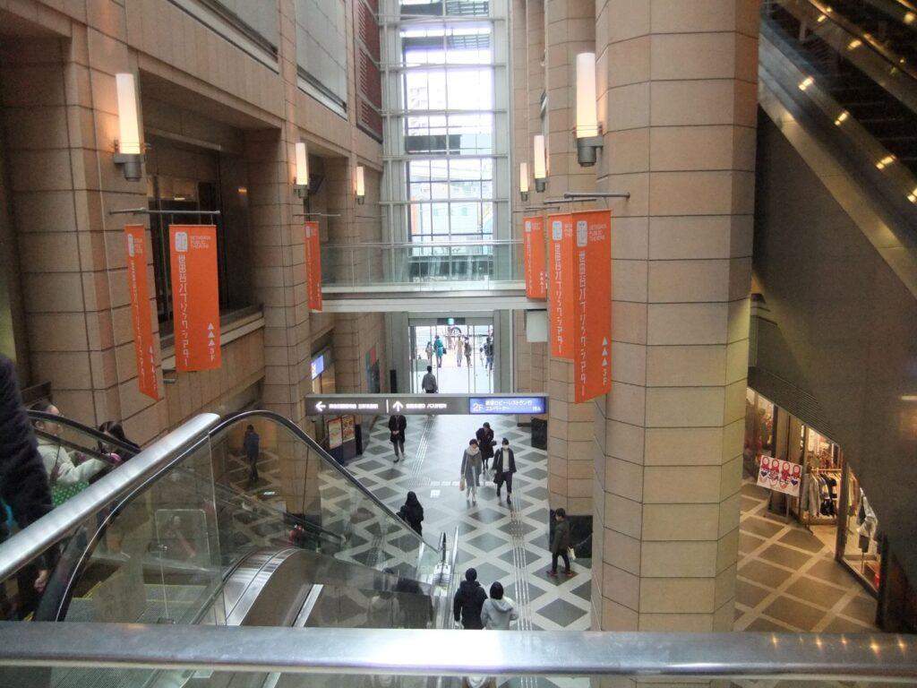 キャロットタワー低層部の複合商業施設