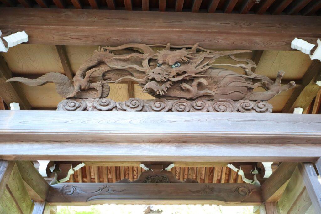 光栄山法性寺の山門