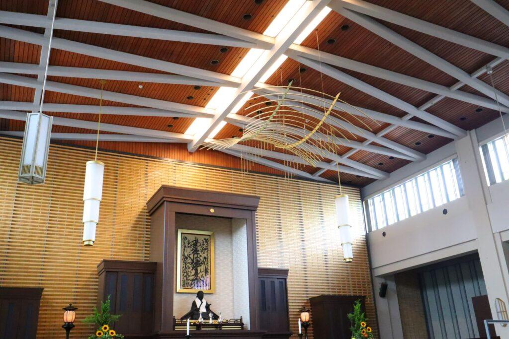 乗泉寺本堂の内観