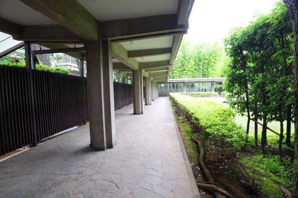 乗泉寺の廻廊
