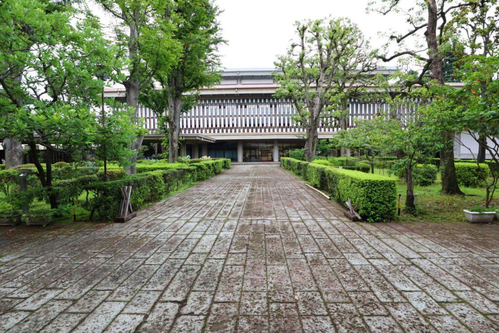 乗泉寺の外観ファサード