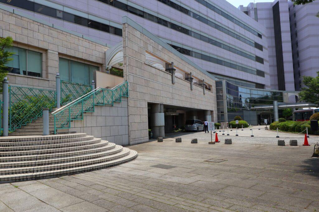 かながわサイエンスパークのイノベーションセンタービル西棟外観
