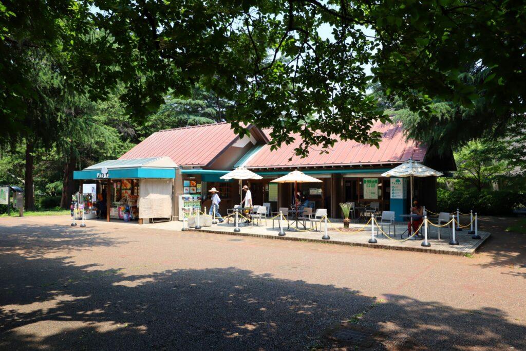 砧公園の売店