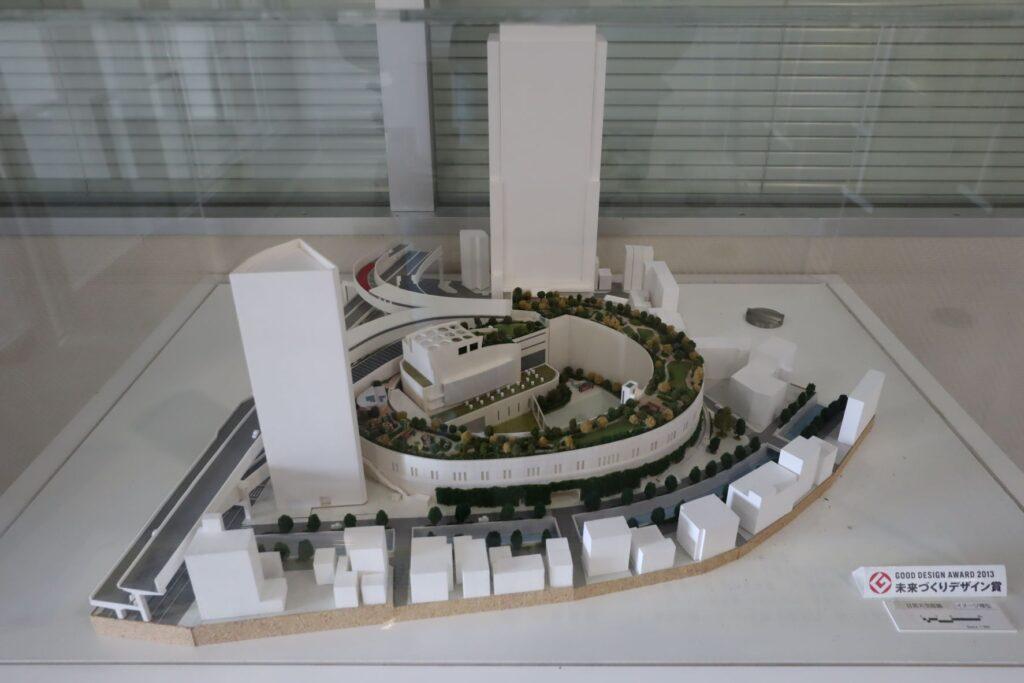 目黒天空庭園の建築模型