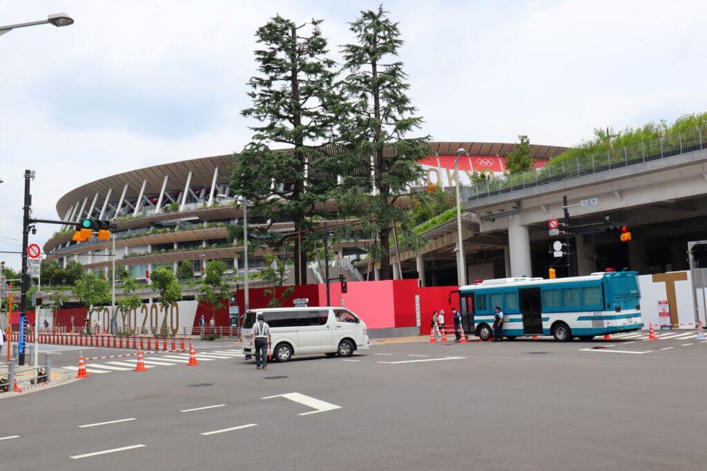 国立競技場の外観