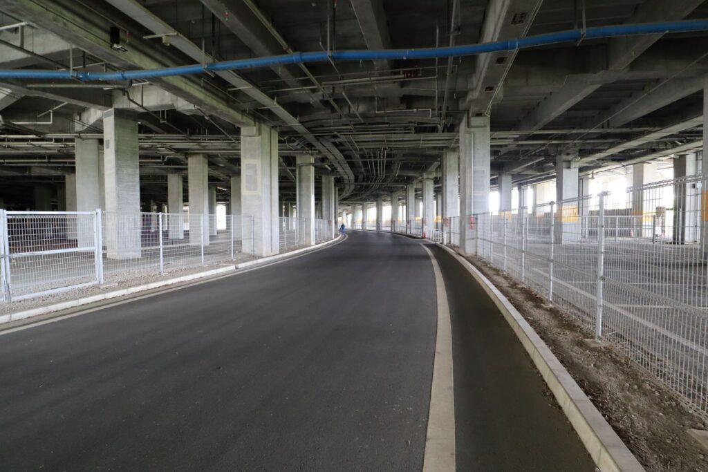 日産スタジアムの地下空間