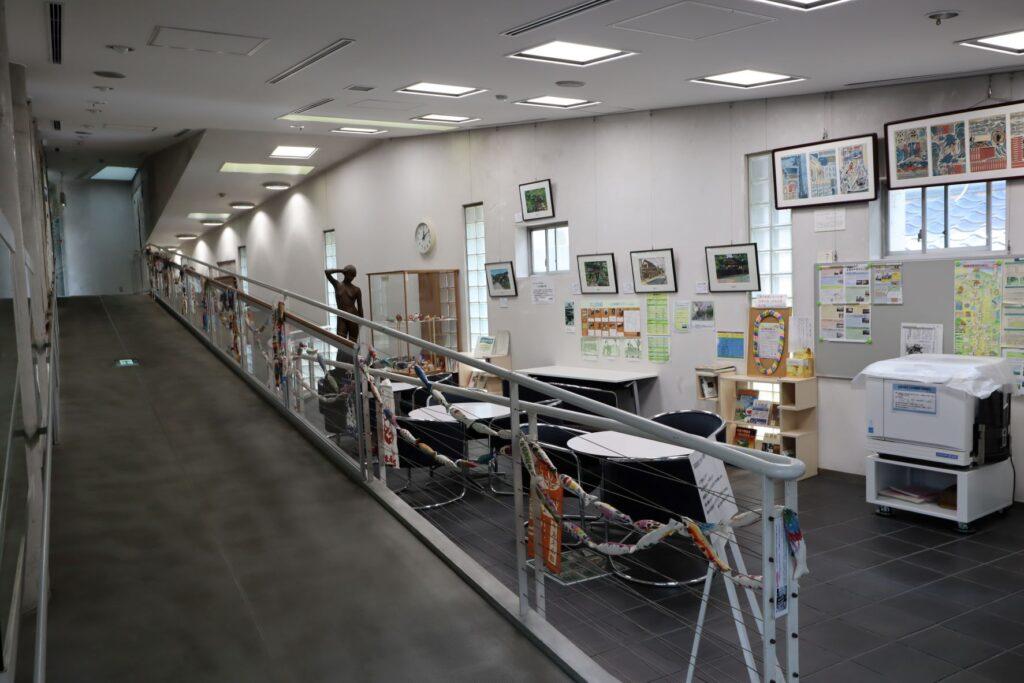川崎市大山街道ふるさと館のみちまちラウンジ(談話コーナー)
