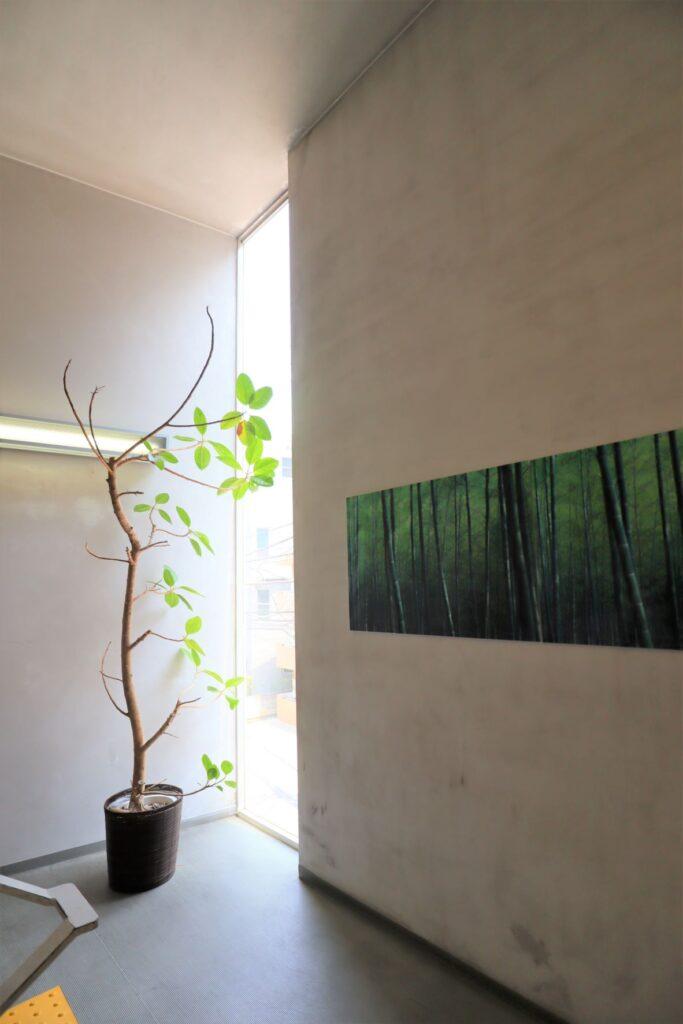 川崎市大山街道ふるさと館の階段室