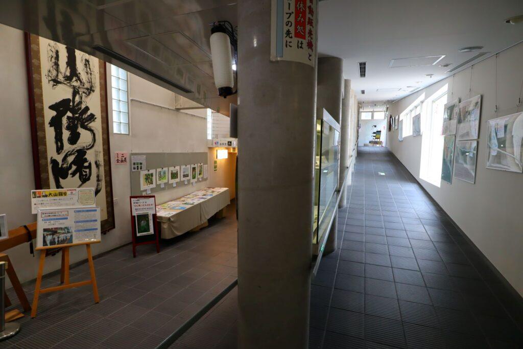 川崎市大山街道ふるさと館のスロープ空間