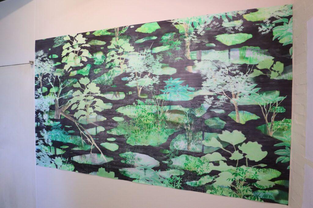 パビリオン・トウキョウ2021展の木陰雲(石上純也)のプレゼンテーション