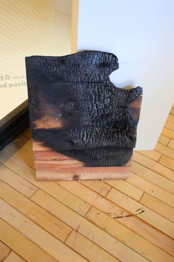パビリオン・トウキョウ2021展の木陰雲(石上純也)のモックアップ