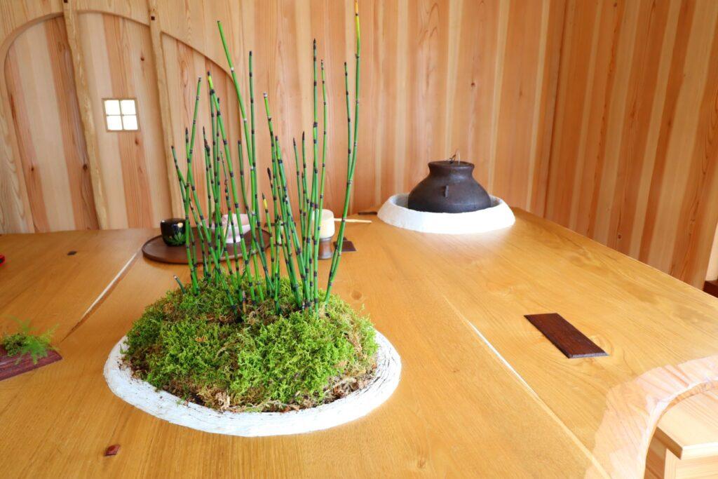パビリオン・トウキョウ2021の茶室「五庵」(藤森照信)