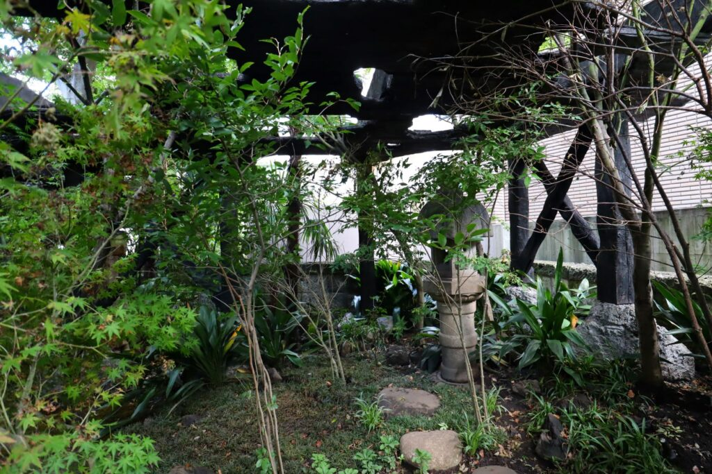 パビリオン・トウキョウ2021の木陰雲(石上純也)