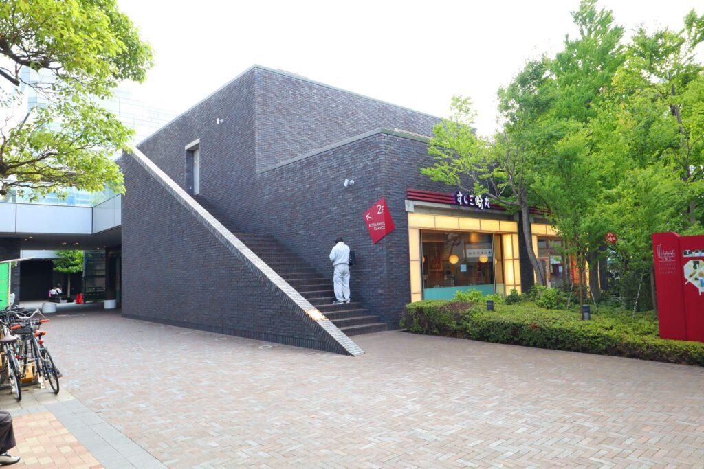 世田谷ビジネススクエアの商業施設