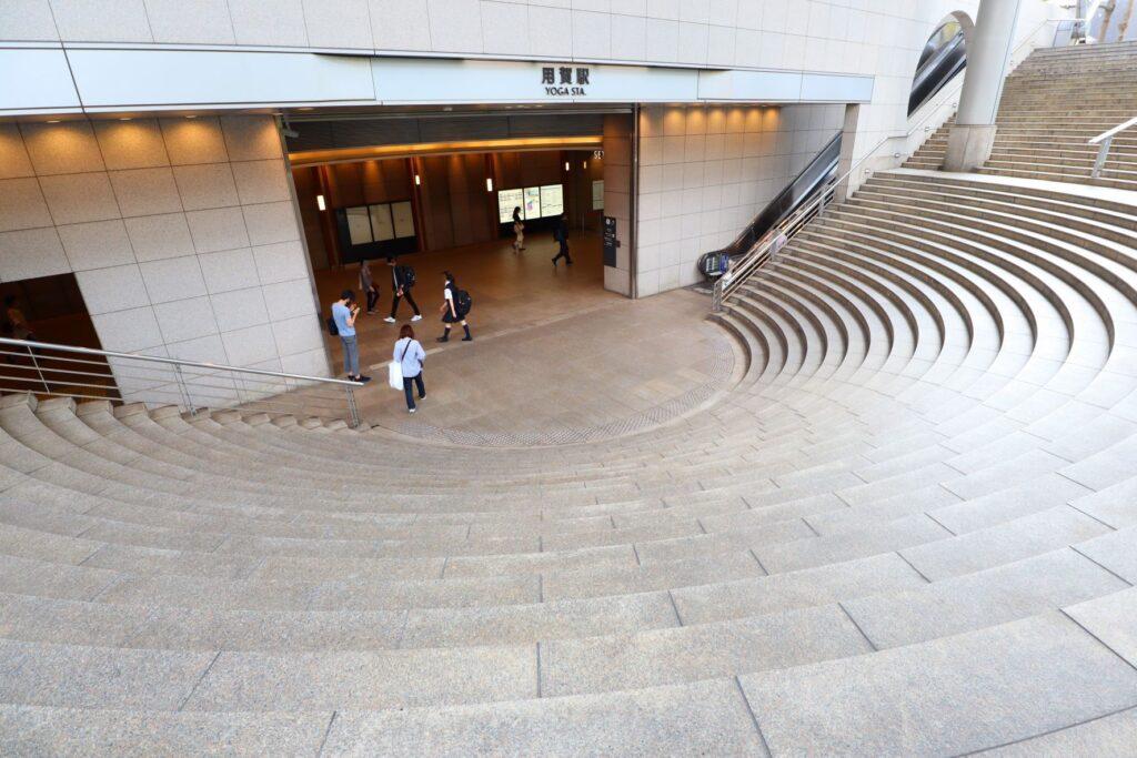 世田谷ビジネススクエアの用賀駅からの入口