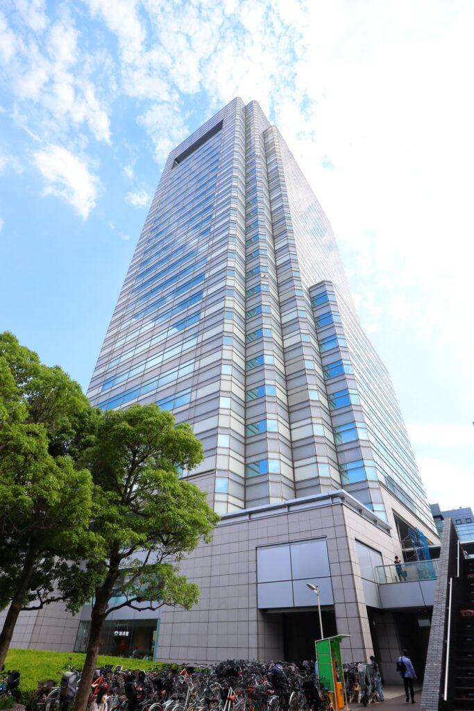 世田谷ビジネススクエアの超高層タワー