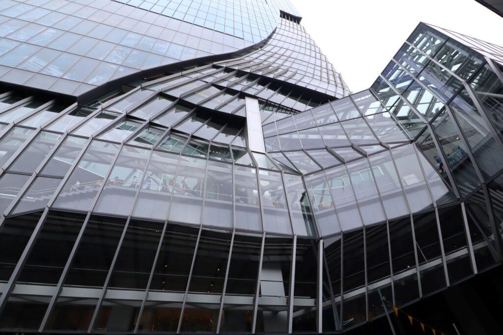 渋谷スクランブルスクエア低層部外観