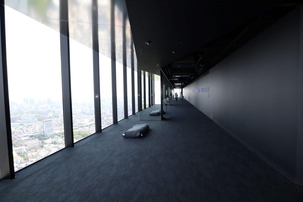 渋谷スクランブルスクエアのSHIBUYA SKYの屋内展望回廊