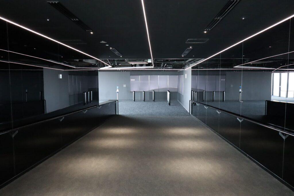 渋谷スクランブルスクエアのSHIBUYA SKYの屋内展望回廊入口