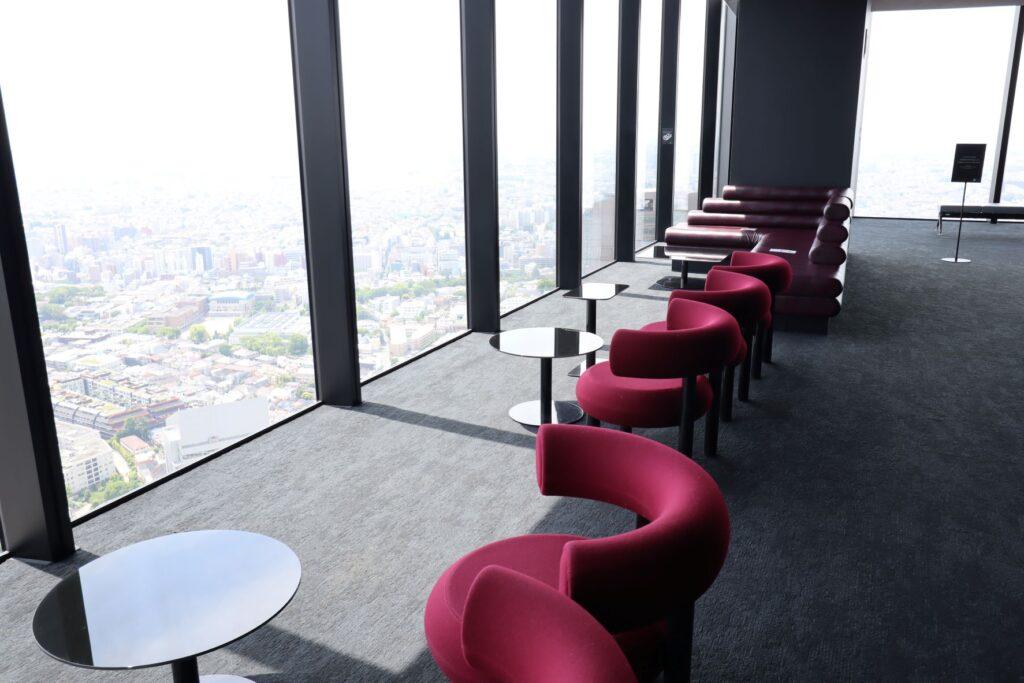 渋谷スクランブルスクエアのSHIBUYA SKYの屋内展望回廊にあるミュージック・バー