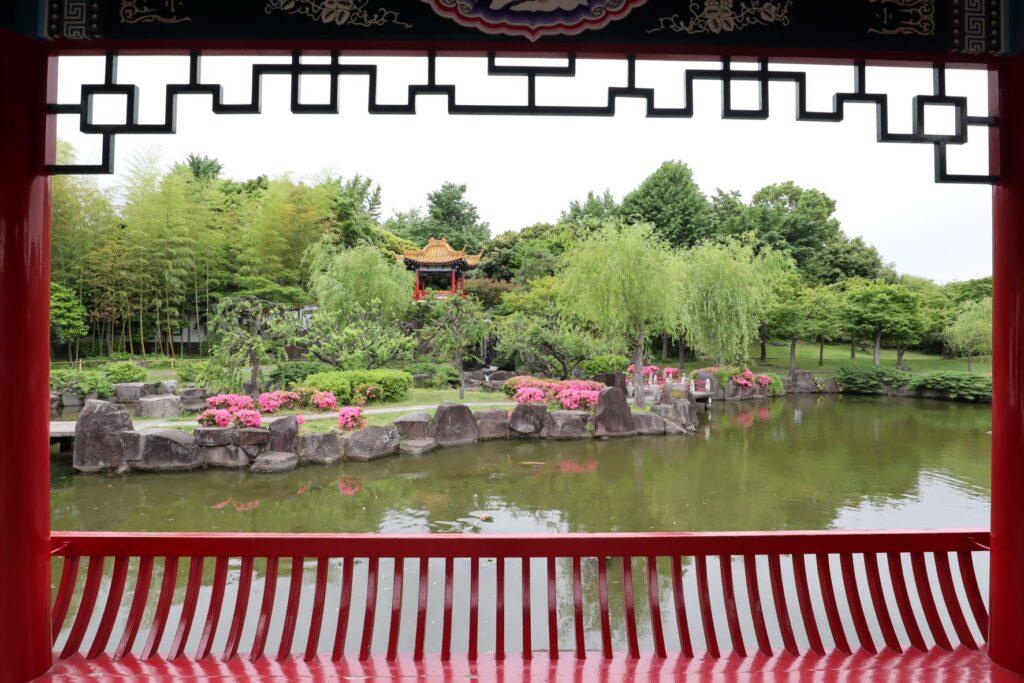 大師公園瀋秀園の秀湖