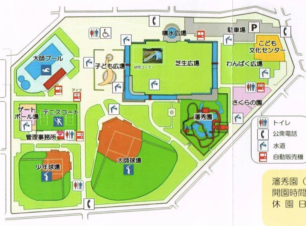 大師公園マップ