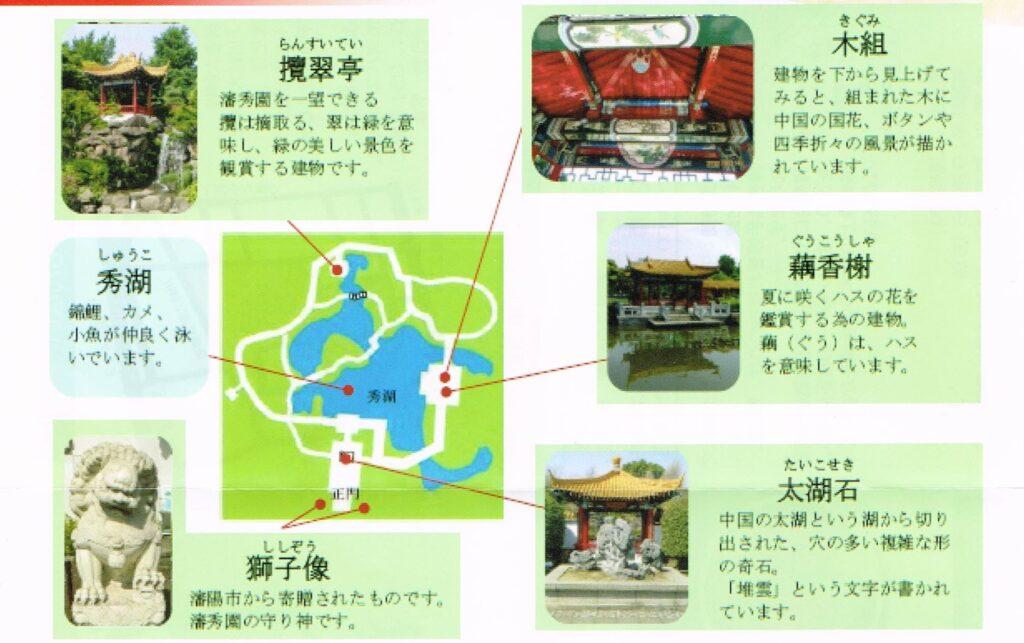 大師公園瀋秀園マップ