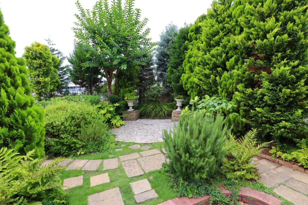 玉川高島屋SCガーデンアイランドの屋上庭園