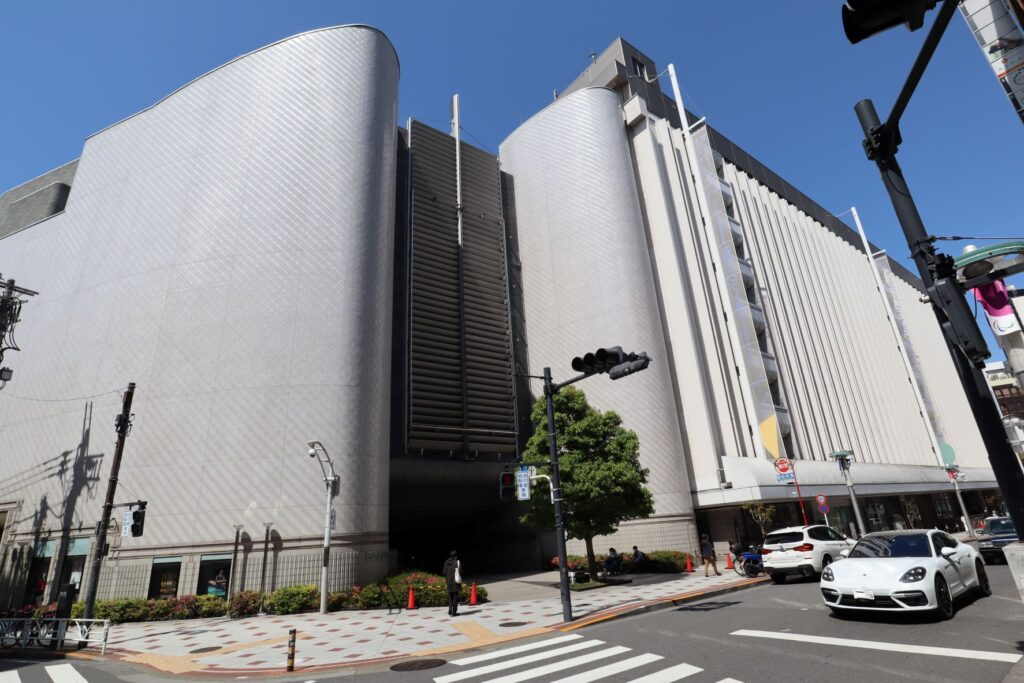 Bunkamura正面(南口)エントランス