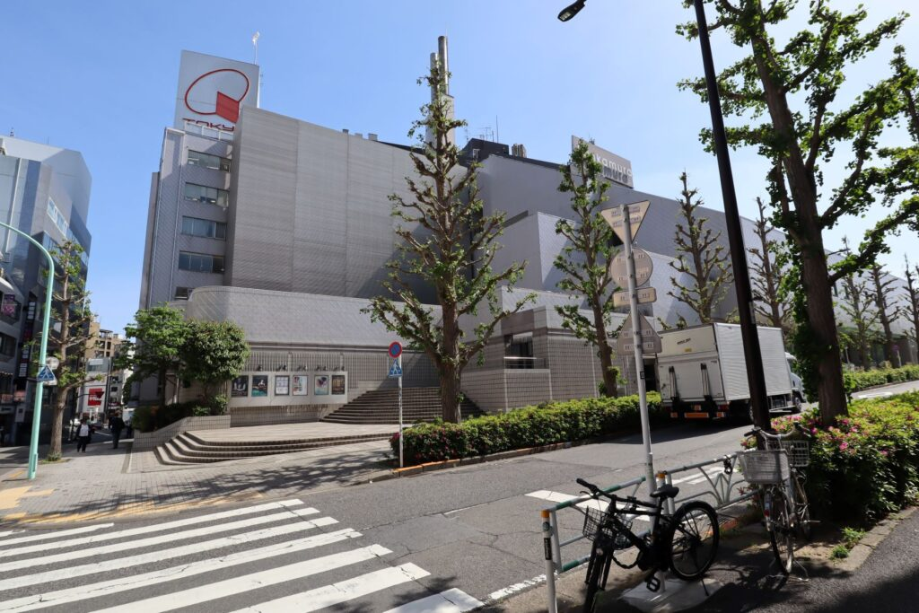 Bunkamura&東急百貨店外観