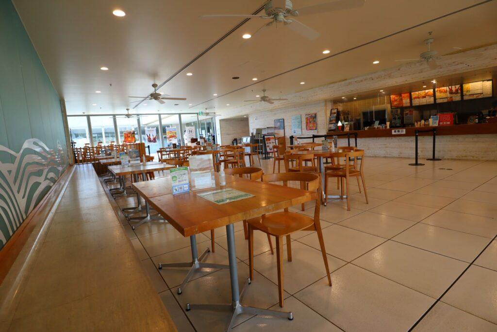 展望レストハウス・クリスタルビューのクリスタルカフェ