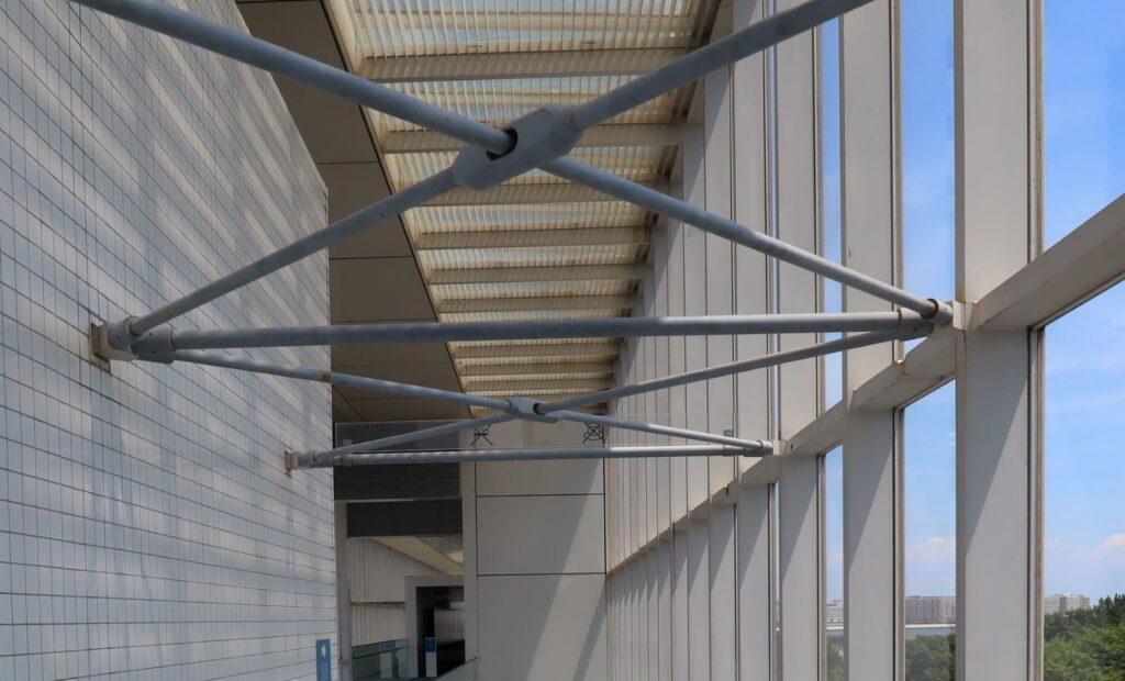 展望レストハウス・クリスタルビューの鋼管