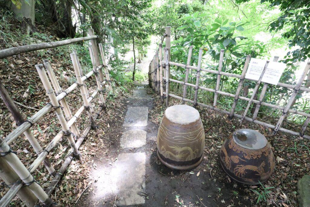 日吉の森庭園の見晴台
