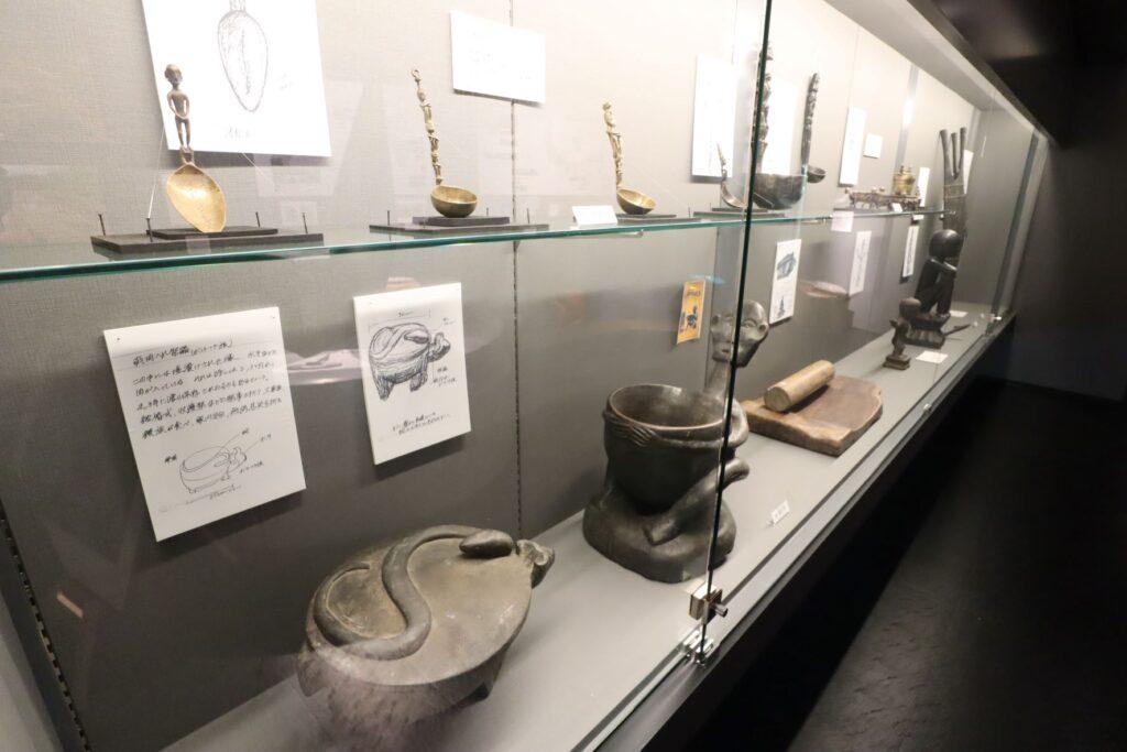 田辺光彰美術館の民族文化財