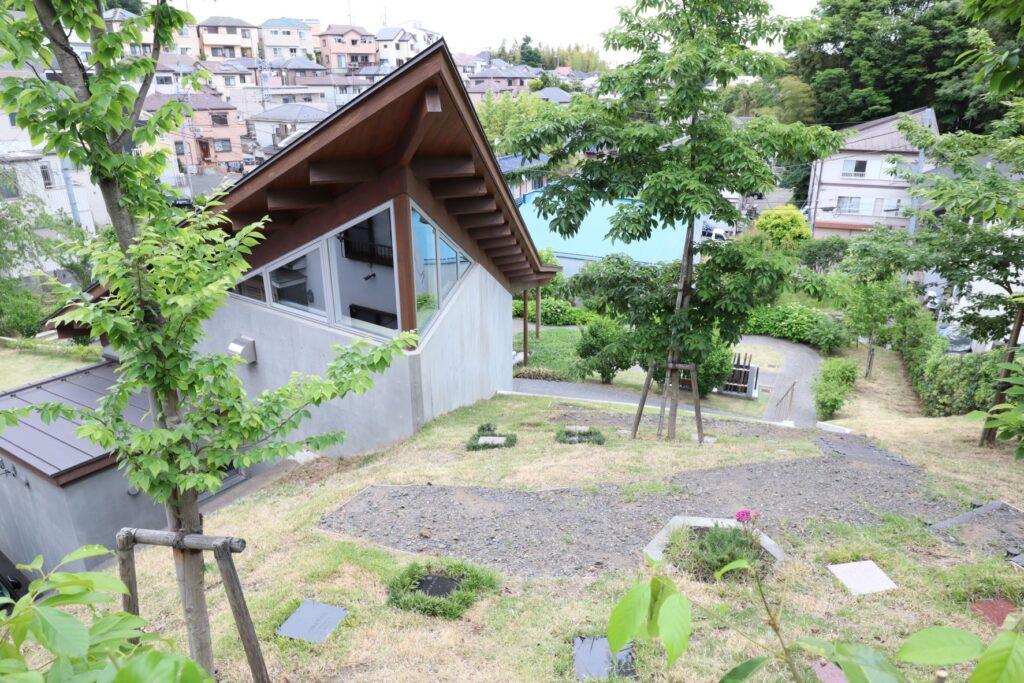 本覚寺の森 観音霊園の森の墓