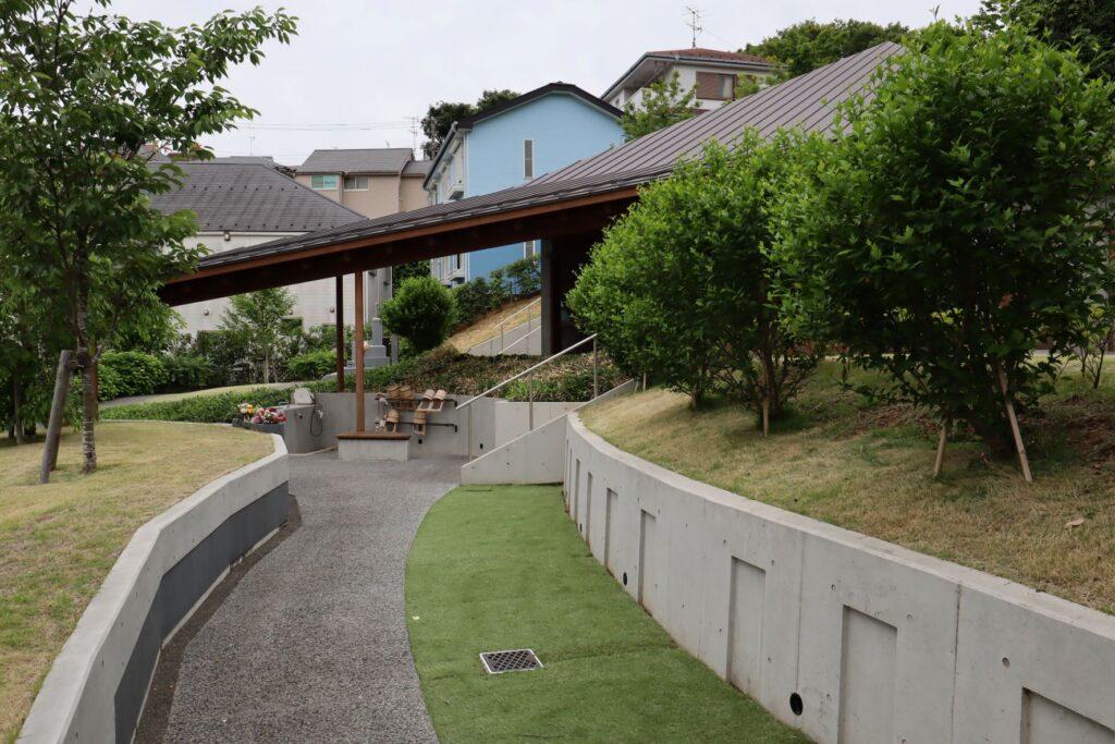 本覚寺の森 観音堂の外観