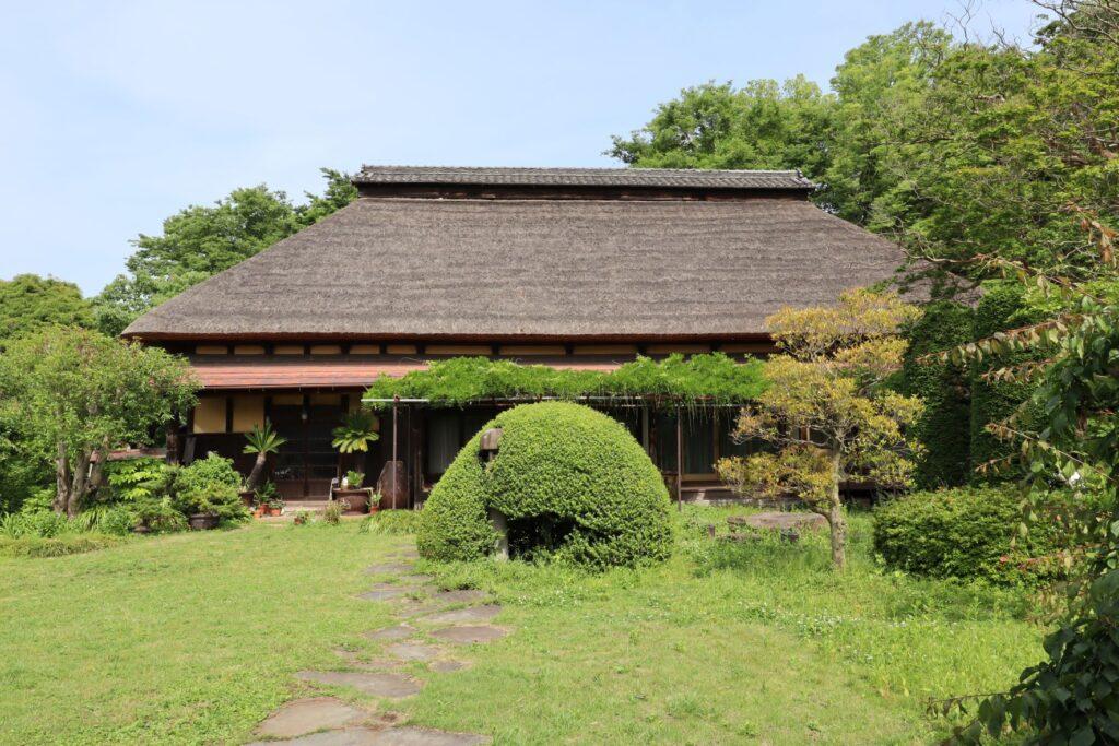 飯田家住宅の主屋ファサード