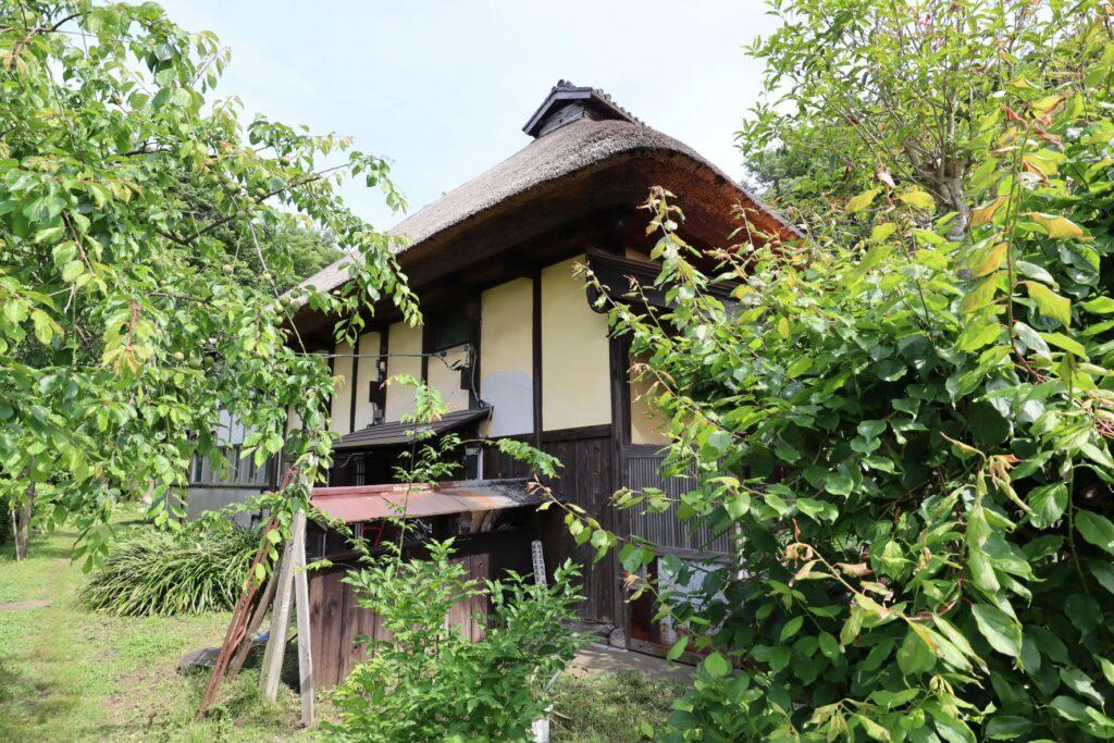 飯田家住宅の主屋外観