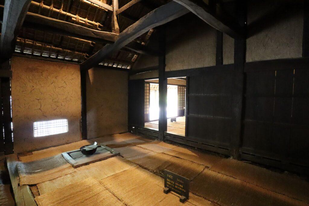 日本民家園の関東の村の広瀬家住宅いどこ