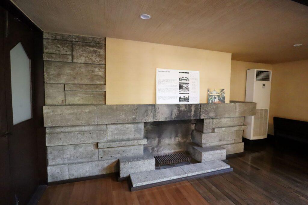 自由学園明日館講堂の暖炉