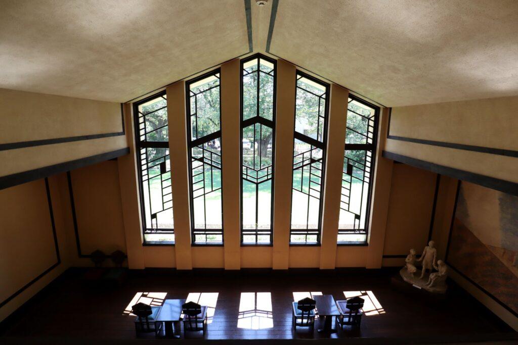 自由学園明日館のホール