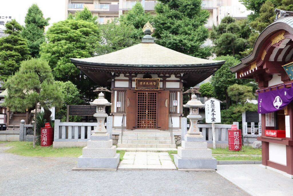 川崎大師の聖徳太子堂