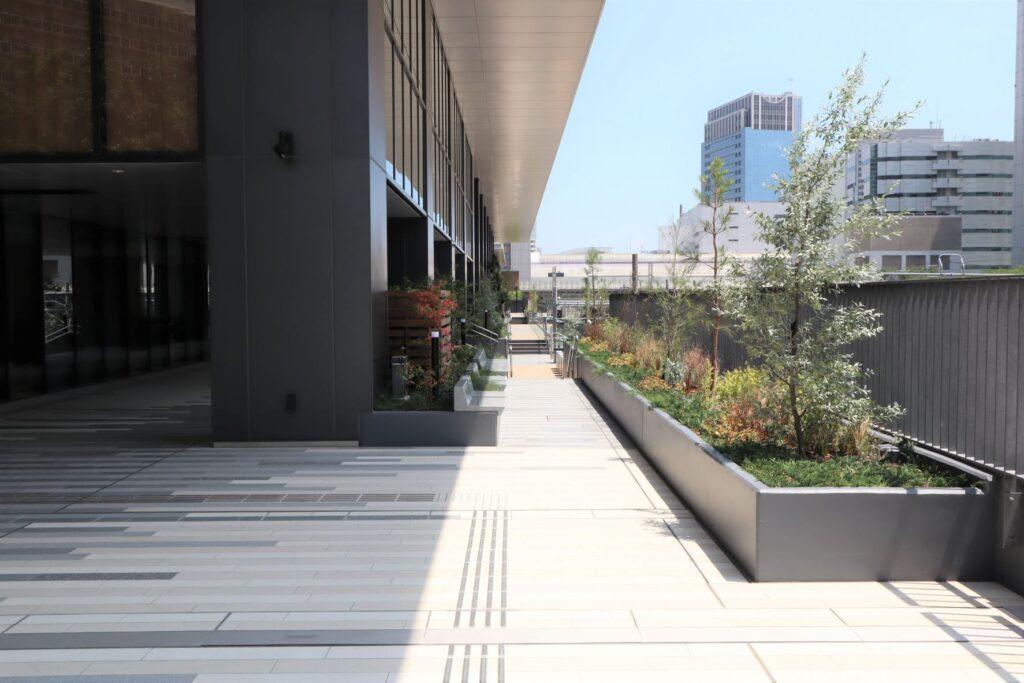 KAWASAKI DELTAの2階通路