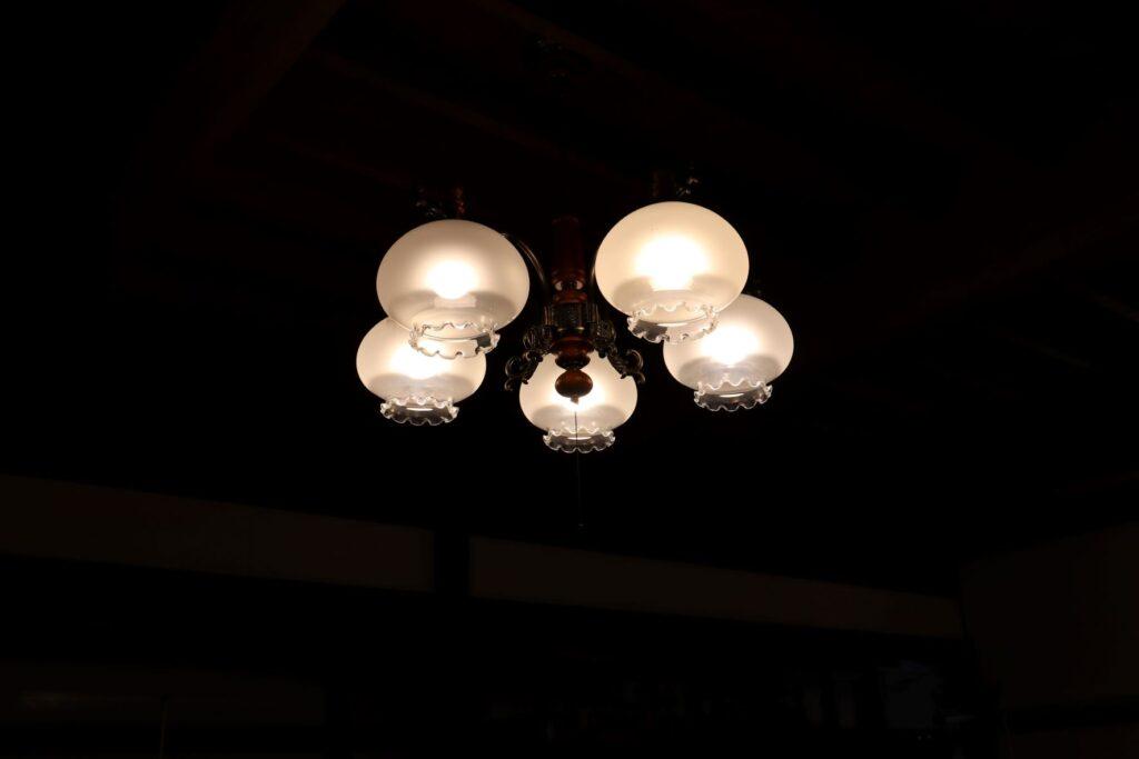 小黒恵子童謡記念館の照明