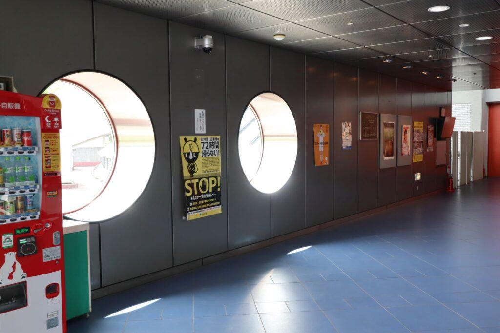 駒沢オリンピック公園体育館の丸窓