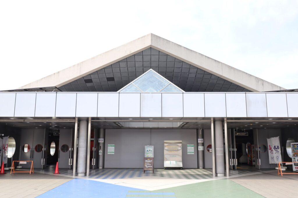 駒沢オリンピック公園体育館入口