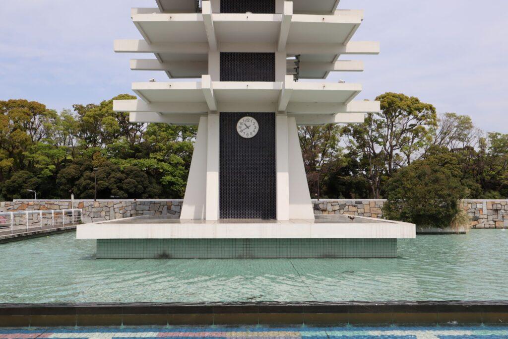駒沢オリンピック公園オリンピック記念塔の下層部