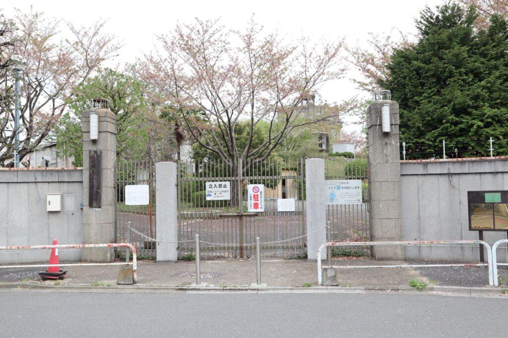 駒沢給水所入口