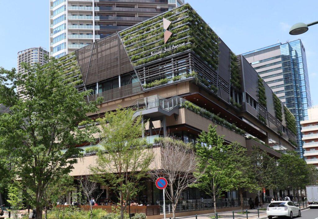 Kosugi 3rd Avenue南側外観