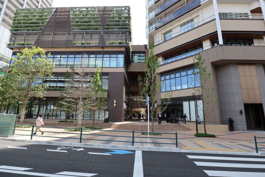 Kosugi 3rd Avenue北側外観